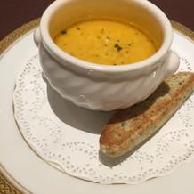 サフラン風スープ