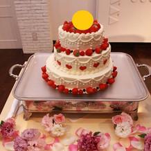 オーダーウエディングケーキ