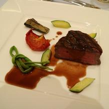 オーストラリア産牛フィレ肉のロティ