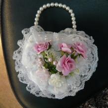 カラードレス用ブーケバッグ