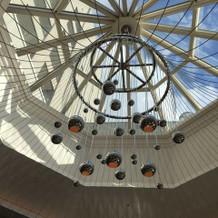 バンケットの天井