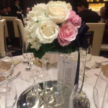 ゲストテーブル 装飾