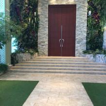 ガーデン入り口