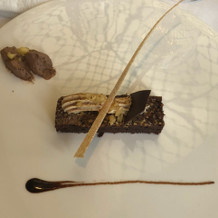 デザート(チョコレートケーキ)