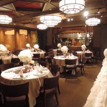 1階披露宴会場。
