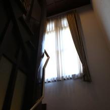 式場の階段の雰囲気