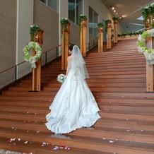 大階段!すてきでした!