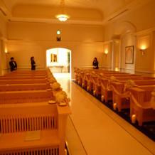 教会式場全体