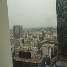 シリウス会場51階から見える景色