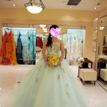 カラードレス ミント