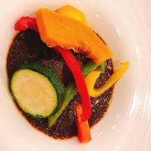 お肉と野菜のバランスがいい。