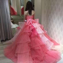 色々なピンクが入っていて可愛かったです。