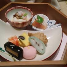 淀川邸14000円コースの前菜