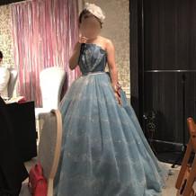 アンテプリマのカラードレス