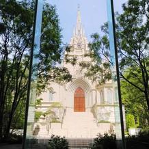 大聖堂の写真です。オシャレで圧巻です。