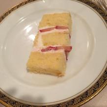 ケーキのおすそ分け