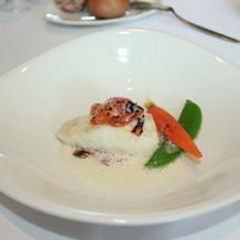 白身魚のクリームソテー