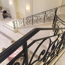 階段の上からの景色