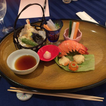 和食② 伊勢海老と天ぷら