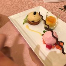 デザート パターン2