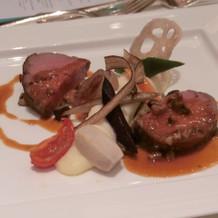 フランス料理肉