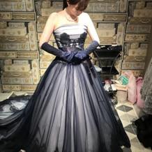 前撮りでレンタルしたドレスです