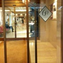 リーガロイヤルホテルの入口
