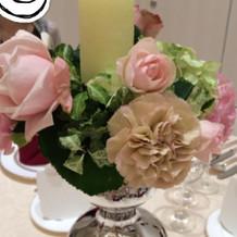 お花もキレイ
