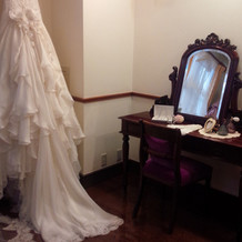 花嫁控え室