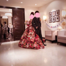 蜷川さんドレス♪