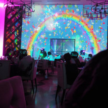 光と音のムービングショー