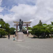 式は豊国神社でした