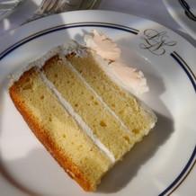 ウェディングケーキのおすそ分け