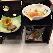 日本料理がとてもオススメです。