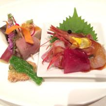 魚介系も新鮮で美味しいです。