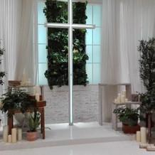 十字架前祭壇