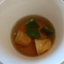 スープは、特徴はなかったです。