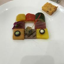 マグロのカルパッチョ