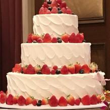 ケーキの種類も豊富です