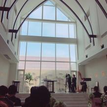 天井が高く開放感がありました