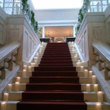 階段のバージンロード
