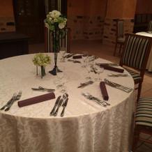 パルタール ゲストテーブル