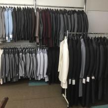 男性衣装もたくさん!