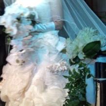 新婦白ドレス