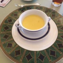 あったかくて美味しいスープでした。