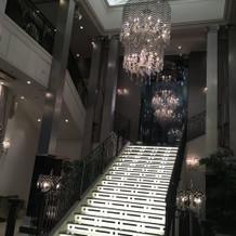 アラガンテの大階段です。