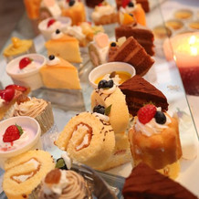 デザートビュッフェのケーキは種類豊富!