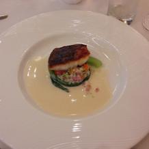 試食会時魚料理1