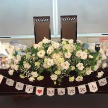 テーブル装飾 ガーランド