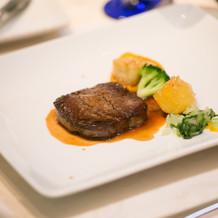オーストラリア産牛フィレ肉のソテー
